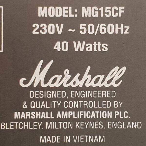 آمپلی فایر مارشال mg15cf