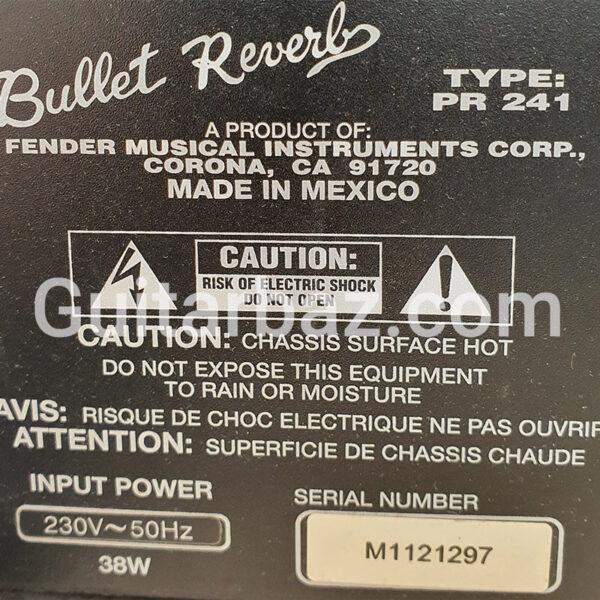 آمپلی فندر بالت ریورب | Fender bullet reverb