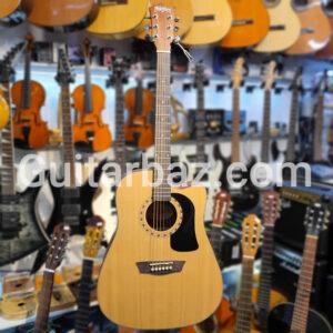 گیتار اکوستیک وشبرن پیکاپدار | Washburn ad5cens-a