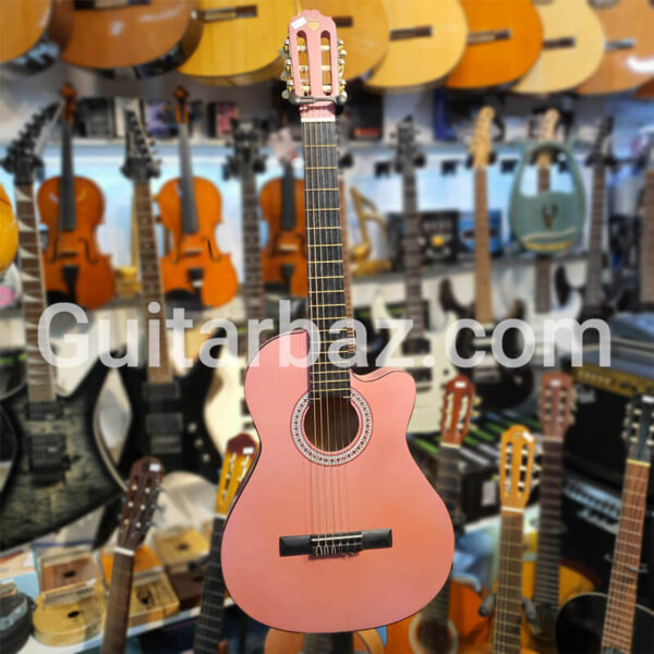 'گیتار دایموند دخترانه صورتی