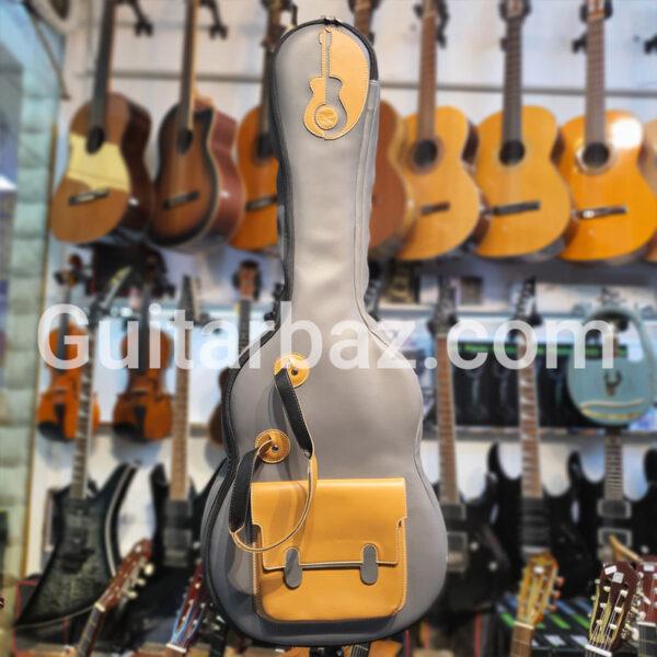 کیف گیتار اکوستیک چرم سفارشی