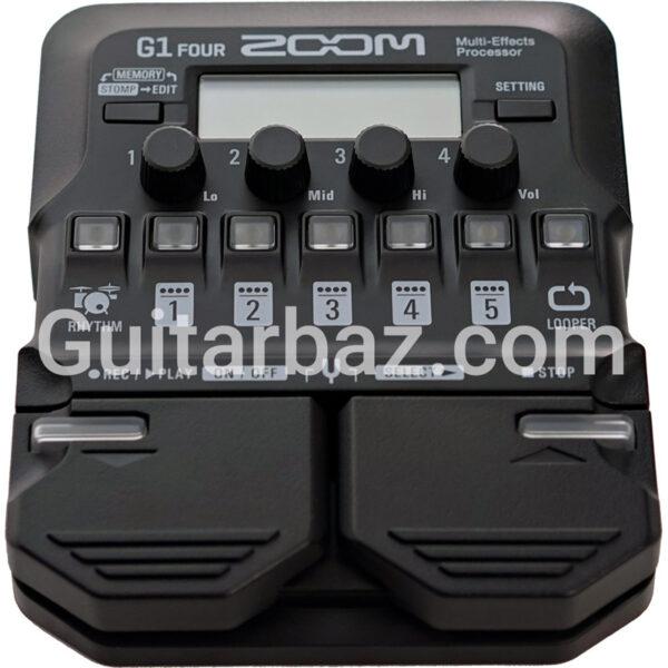افکت گیتار الکتریک زوم (zoom) مدل g1four